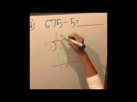 อธิบายวิธีคิดเลขแบบหารยาว โดยผิงผิงและเฟิร์น