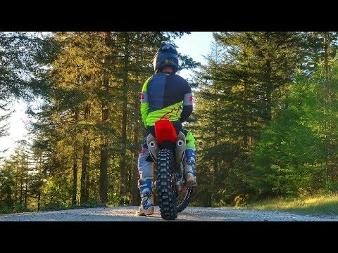 CRF 450 Woods Riding | Hard Work