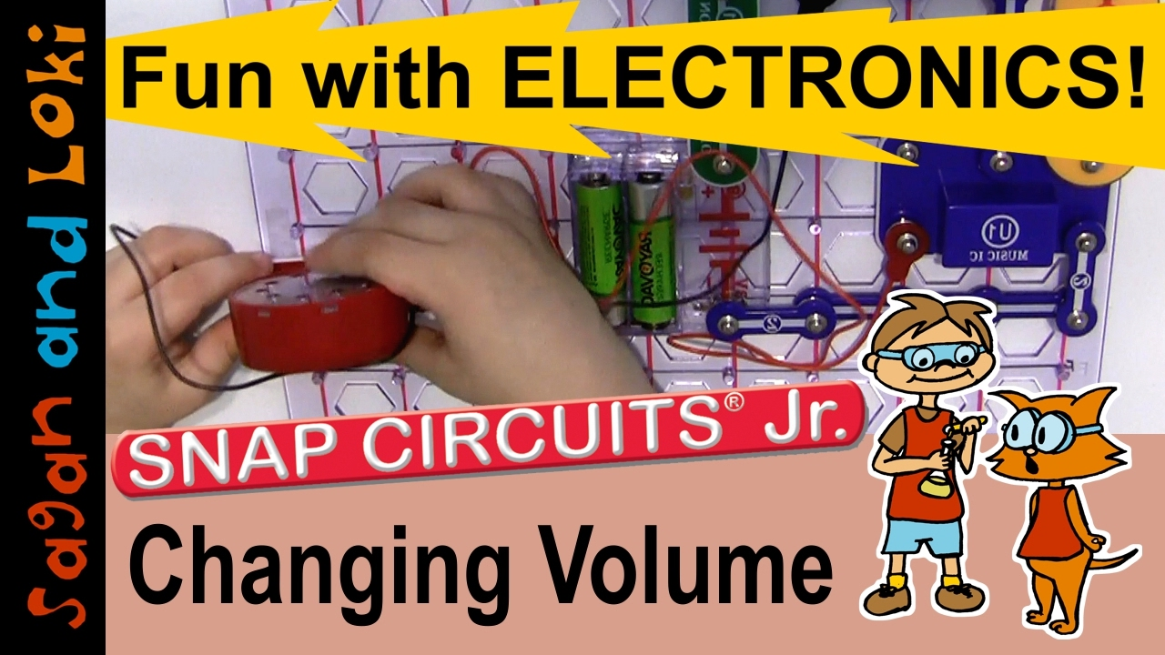 Using A Resistor To Change Volume Snap Circuits Jr Projects Ep Replacement Motor Top For Elenco Snapcircuits Electronics