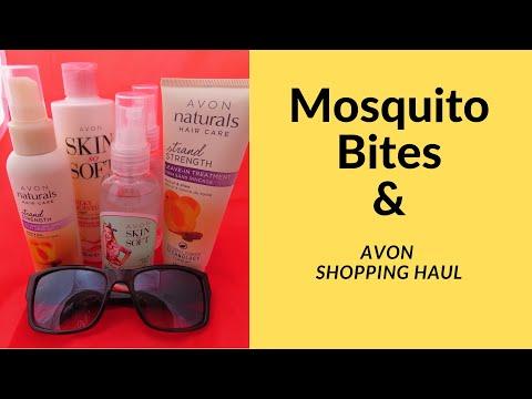Mosquito Bite Wars & Avon Shopping Haul