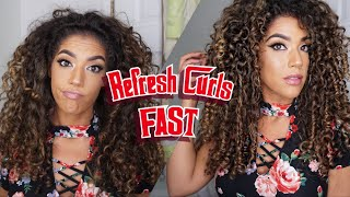 REFRESH CURLS FAST DIY REFRESHER| HiF3licia