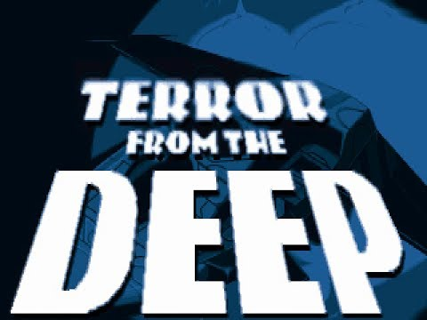 X-COM Terror From The Deep - video game Slideshow demo (PC MS-DOS, 1994)