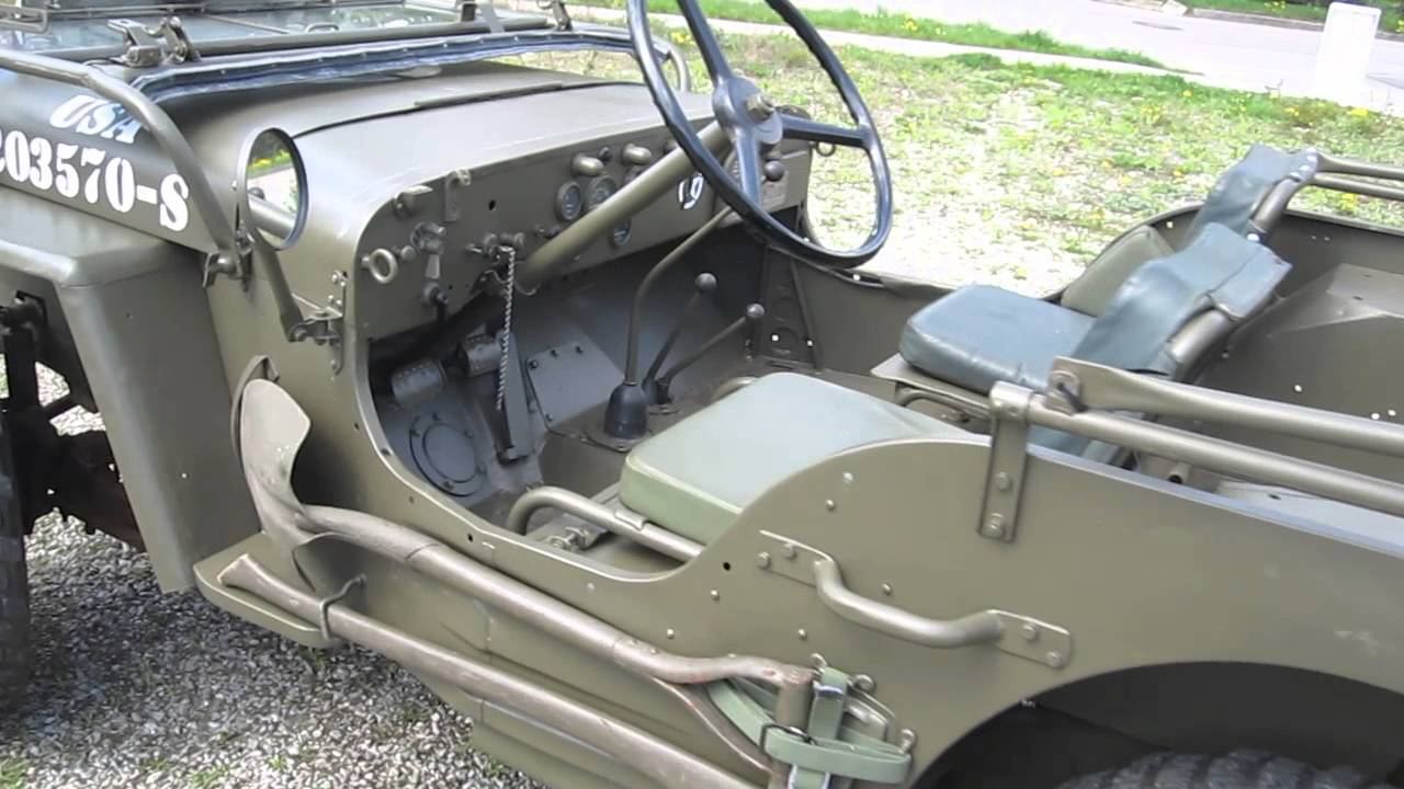 Jeep mb jeep : Hotchkiss M201 Militär Jeep Willys MB Overland Ford GPW - YouTube