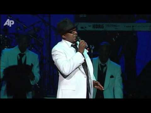 Raw Video: Bobby Brown Performs After Funeral