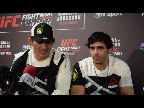 Francimar Barroso Post Fight Interview