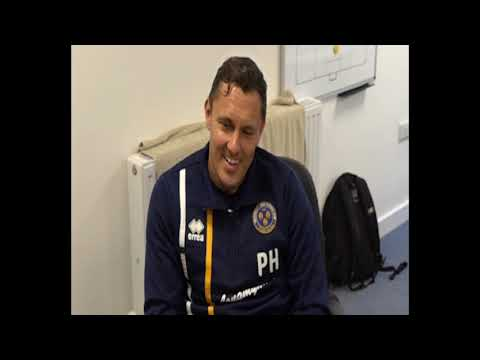 Paul Hurst talks about his year in charge at Shrewsbury Town