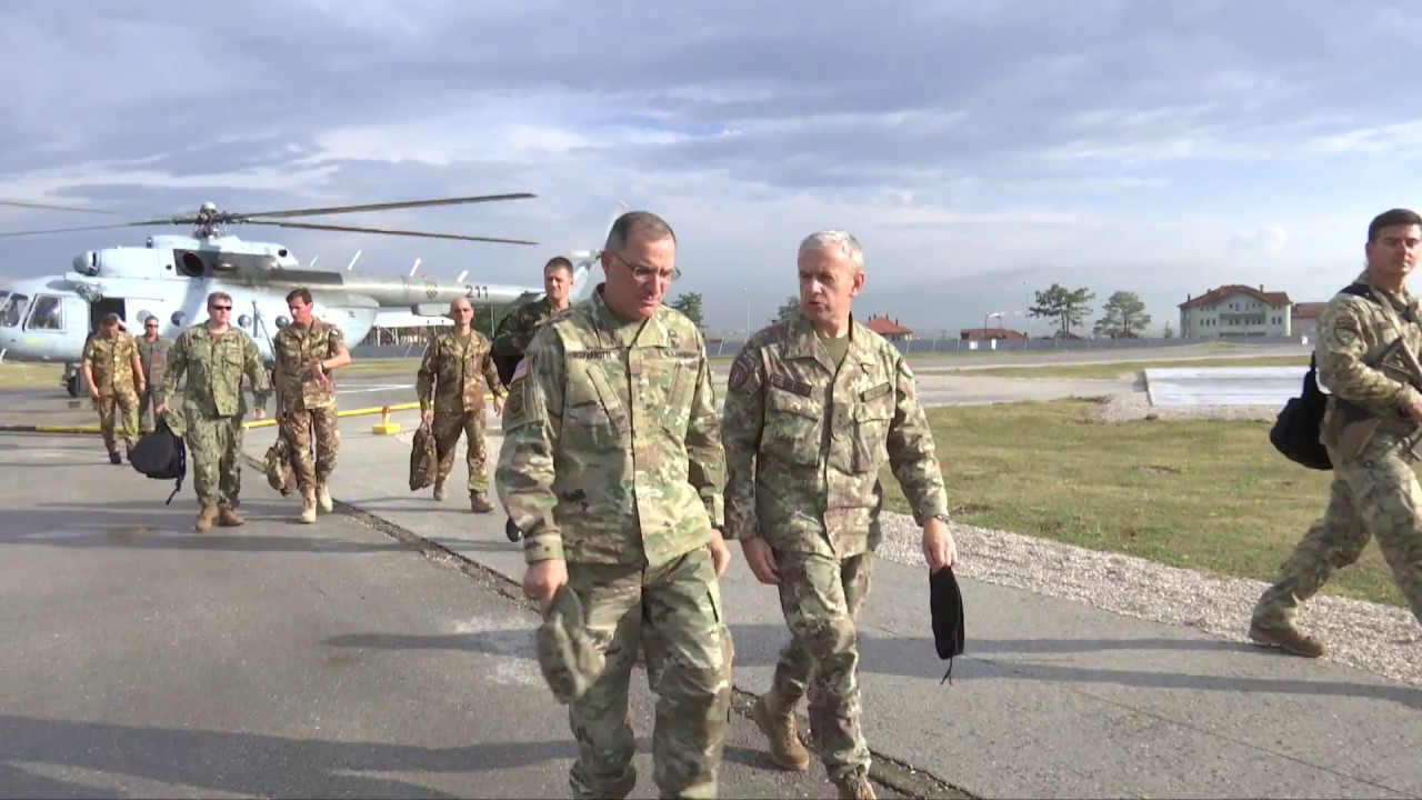 USFK Commander Scaparrotti speaks to reporters, October 24