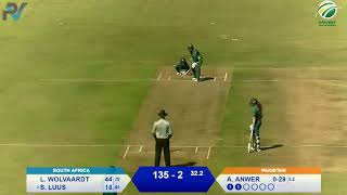 Women's Cricket - SA vs PAK 3rd ODI - at Willowmoore Park, Benoni (Part 1)