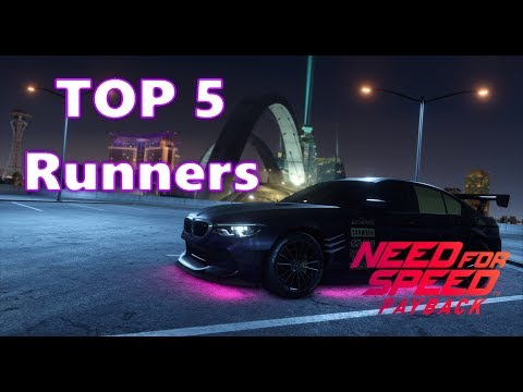 Need For Speed Payback Top 5 Runners