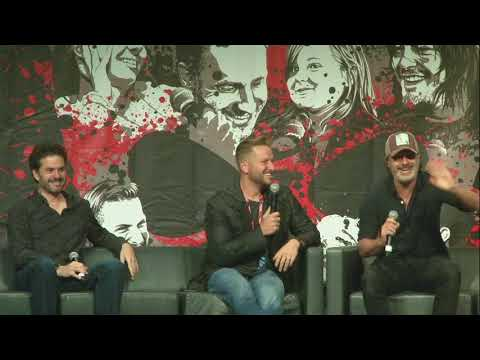 The Walking Dead: Andrew Lincoln & Danai Gurira Panel WSC Atlanta 2017