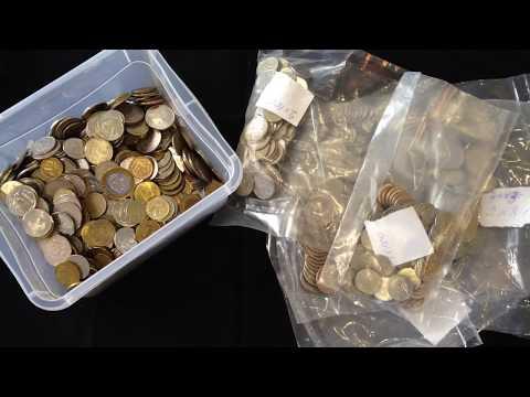 Поиск современных дорогих и редких монет России из обращения. Частота встречаемости монет