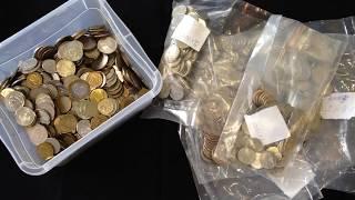 Gambar cover Поиск современных дорогих и редких монет России из обращения. Частота встречаемости монет
