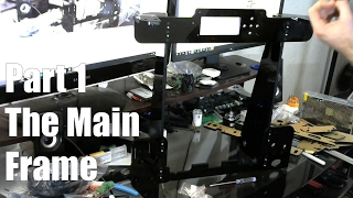 anet a8 3d printer build guide part 1 the main frame
