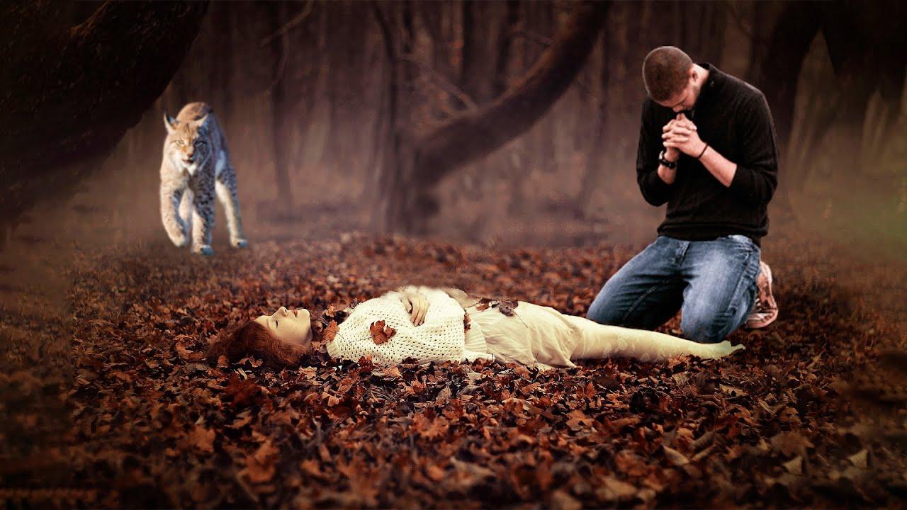 Муж приговорил смертельно больную жену, вывезя её в глухой лес. Тело нашла рысь и случилось нечто