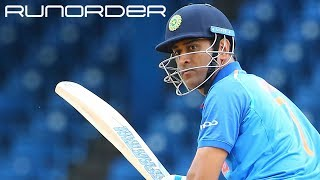 Run Order: Dhoni for 2019 World Cup or not?