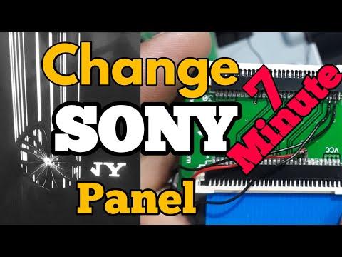 Panel Change SONY TV  || Led TV Repair