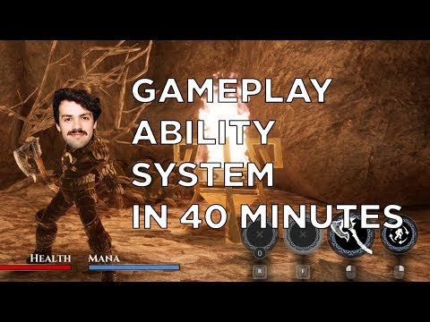 Gameplay Ability System in 40 Minutes -UE4 C++ Tutorial