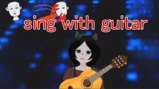 木曜日のお昼を告げるのんびりアコギ弾き語り sing with a guitar