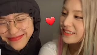 Download lagu Ryujin Itzy & Yeji Leader Sing How You Like That & Be In Love (Acapella)   In Vlive #ITZY #RYEJI