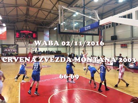 Crvena Zvezda : Montana 2003 - WABA Adriatica Women Basketball League
