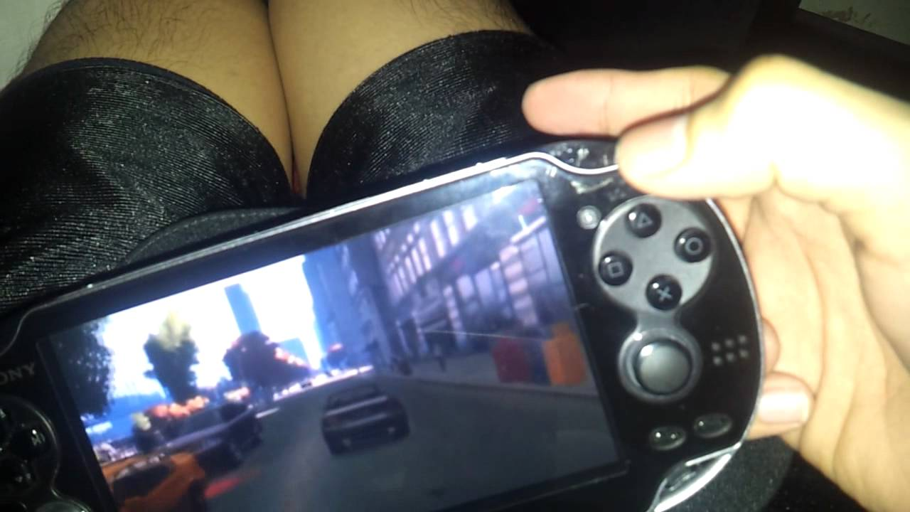 Playstation Vita Gta 5 : Gta on ps vita youtube