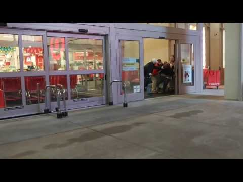 Shoplifter goes INSANE after Target Store security caught him stealing in Atlanta, GA