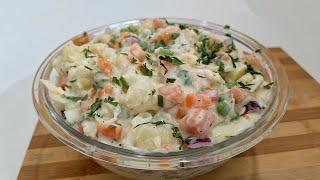 A Melhor Salada De Repolho Com Batata