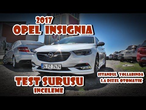Test - Opel Insignia Grand Sport 1.6 Dizel Otomatik İstanbul yollarında TEST