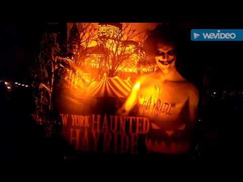 Halloween Haunted Hayride NYC Randalls Island, NY !!