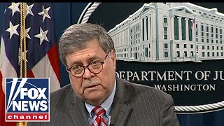 Barr: I don't expect an investigation of Obama or Biden