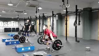 운동일기 오늘은 역도 다이어트 최강운동 크로스핏 Cro…