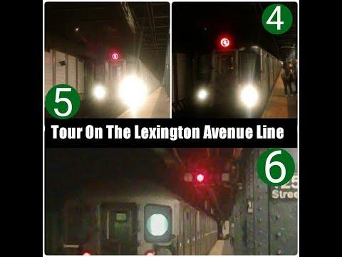 MTA New York City Subway : Tour On The Lexington Avenue Line
