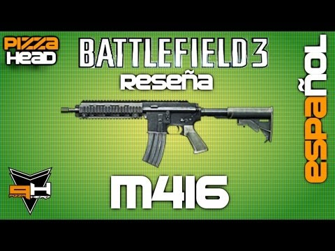 M416 Reseña Battlefield 3 [ Español ] ( PizzaHead ) Guía de Armas Battlefield 3 Gameplay
