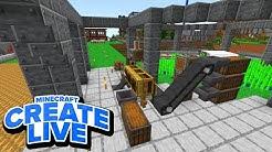 Unendlich RAKETEN, Alle Gebäude fertig & mehr! - Minecraft CREATE LIVE #26