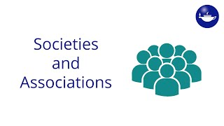 Priorities for societies & associations