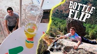 water bottle flip   impossible trick shots