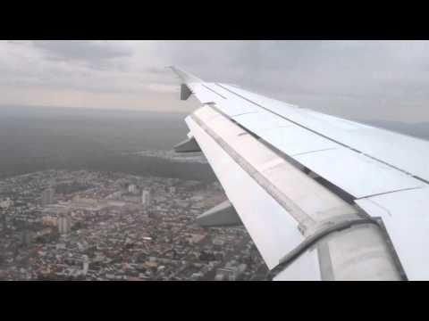 [A320] Lufthansa Tunis To Frankfurt [HD]