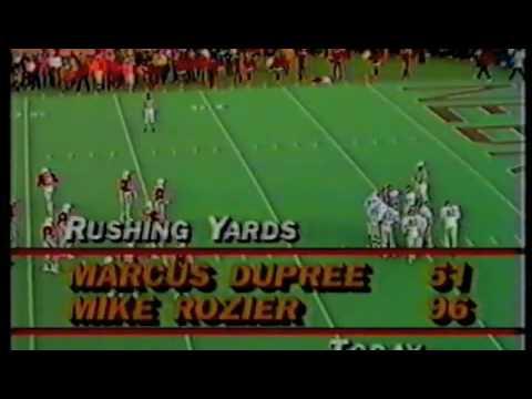 Marcus Dupree v Nebraska, 1982