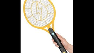 bug zapper  zap it rechargeable mosquito fly killer and bug zapper racket