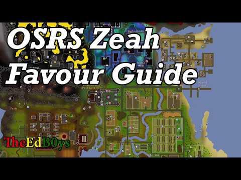 OSRS Zeah Favour Guide   Runescape 2007 Architectural Alliance Guide