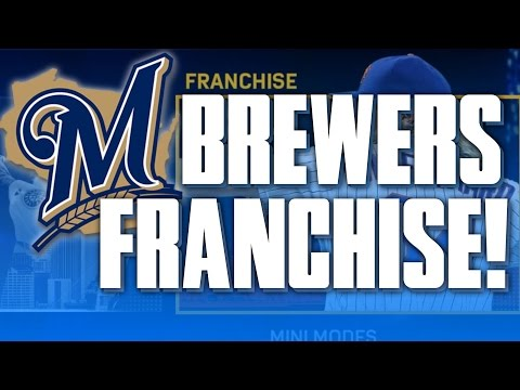 [OSFM ROSTER] HUGE TRADES! REBUILDING THE MILWAUKEE BREWERS! | MLB THE SHOW 17 FRANCHISE MODE