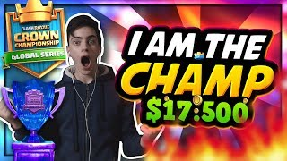 I Am CCGS Row's CHAMPION!!! I WON 17,500$ + a TICKET To London's WORLD FINALS!