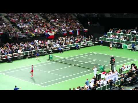 FED Cup 2014 final game