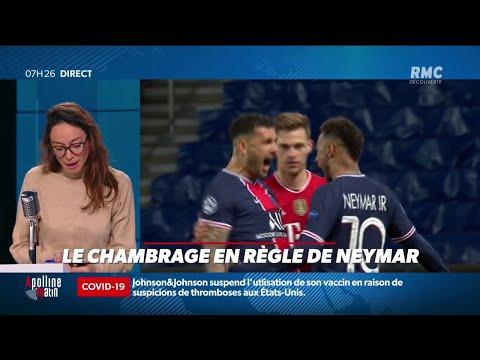 Le chambrage et la comparaison de Neymar au coup de sifflet final de PSG-Bayern
