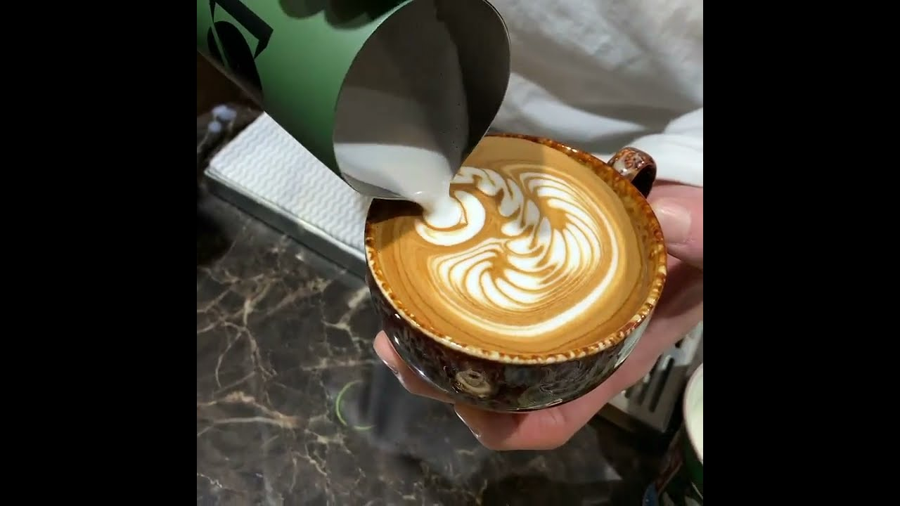 Best Latte art of the day