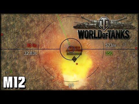 World of Tanks - Live: M12 - Das war knapp!  [ deutsch | gameplay ]