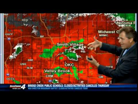 BREAKING WEATHER: MAY 6TH TORANDO COVERAGE KFOR