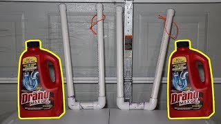 Does Drano Destroy PVC Pipes?