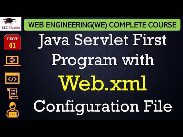 Java Servlet First Program with Web.xml Configuration File