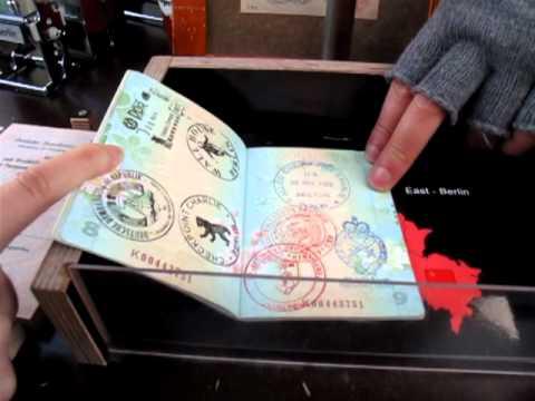 Stamp Your Passport Berlin